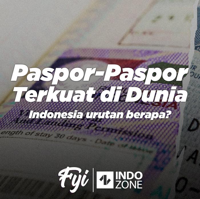Paspor-Paspor Terkuat di Dunia