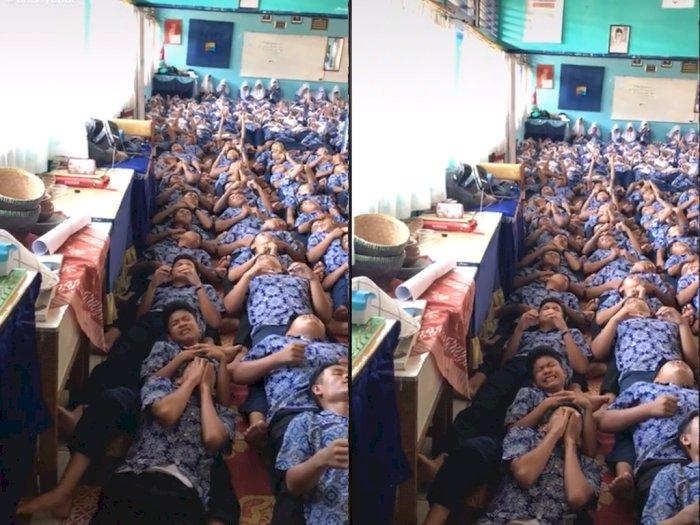 Viral Video 'Renungan Massal' di Sekolah Hingga Siswa Nangis, Bikin Netizen Nostalgia
