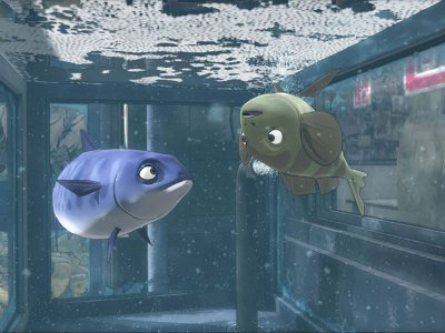 "Film Animasi Korea ""Padak: Swimming to Sea (2012)"" - Pelarian Ikan Mackerel Menuju Lautan"