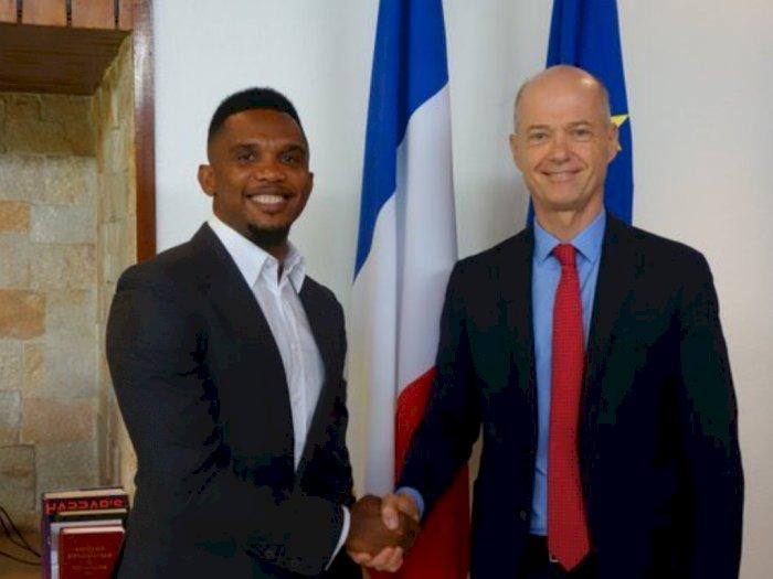 Samuel Eto'o Merasa Tak Dihargai France Football
