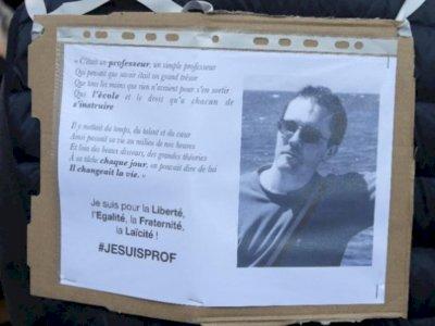 Astaga! Guru Dipenggal Akibat Tunjukkan Kartun Nabi Muhammad, Prancis Tutup Satu Masjid