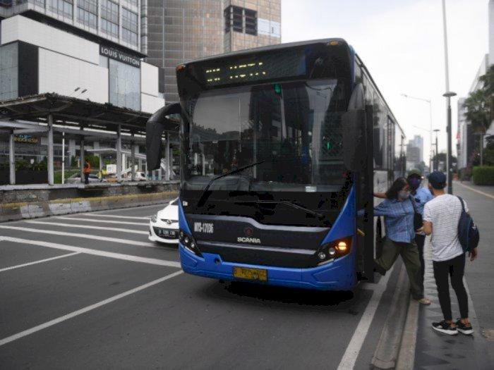 Antisipasi Aksi Demo, Transjakarta Lakukan Pengalihan Rute