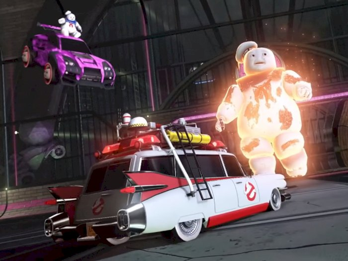 Event Haunted Hallows di Rocket League Hadirkan Item Bertema Ghostbusters!