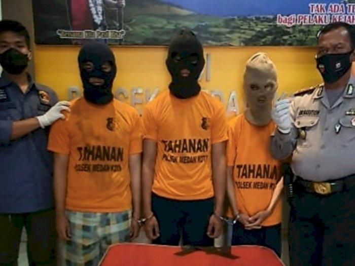 Terjaring Razia Masker, Tiga Pria di Medan Malah Ketahuan Bawa Ekstasi, Hadeh!