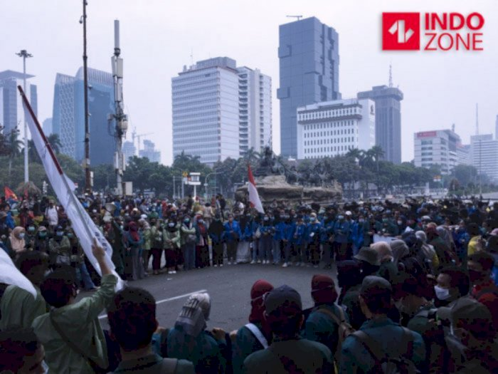 270 Orang yang Diamankan Polisi saat Demo di Jakarta Kemarin Sudah Dipulangkan