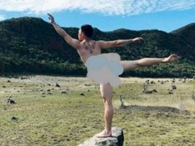 Viral Pendaki Pose Bugil di Gede Pangrango, Netizen Perdebatkan Hal Ini