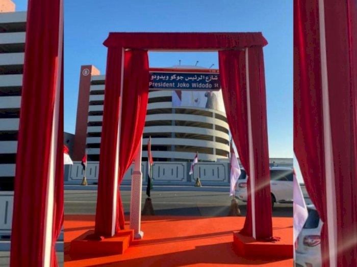 Wow, Nama Presiden Jokowi Diabadikan Sebagai Nama Sebuah Jalan di Kota Abu Dhabi