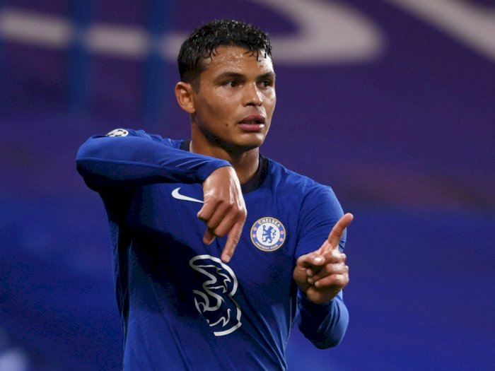 Chelsea Sevilla Skor Kacamata, Lampard Apresiasi Kinerja Thiago Silva