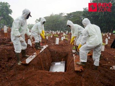Jawa Timur dan DKI Sumbang Angka Kematian Harian Tertinggi Akibat Covid-19