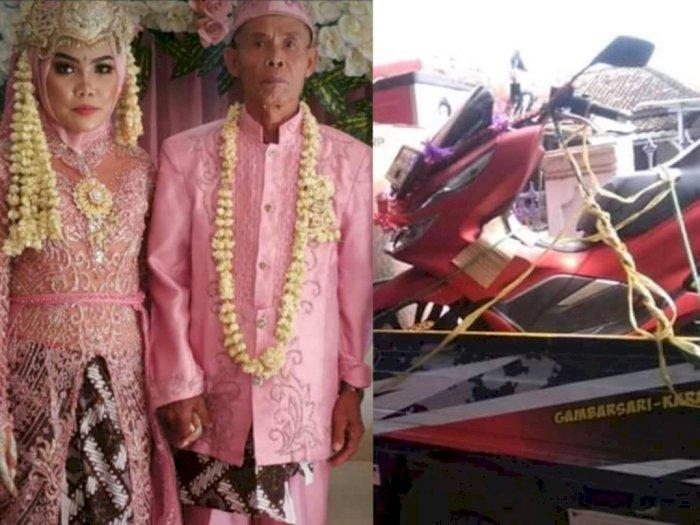 Dihadiahi Motor Matic, Gadis Subang Usia 17 Tahun Luluh Mau Dinikahi Kakek Usia 71 Tahun