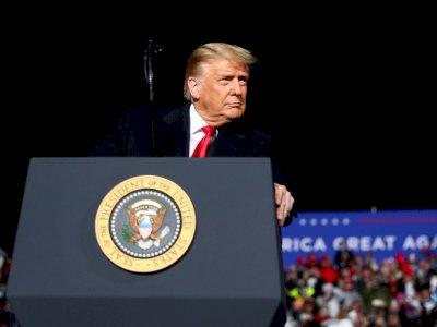 Donald Trump Sebut Biden akan Hancurkan Ekonomi Negara Bila Terpilih Jadi Presiden