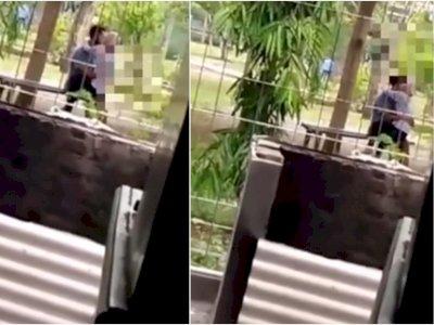 Video Sejoli Remaja Berzina Sambil Pangkuan di Taman Edupark Sragen, Si Cewek Berkerudung