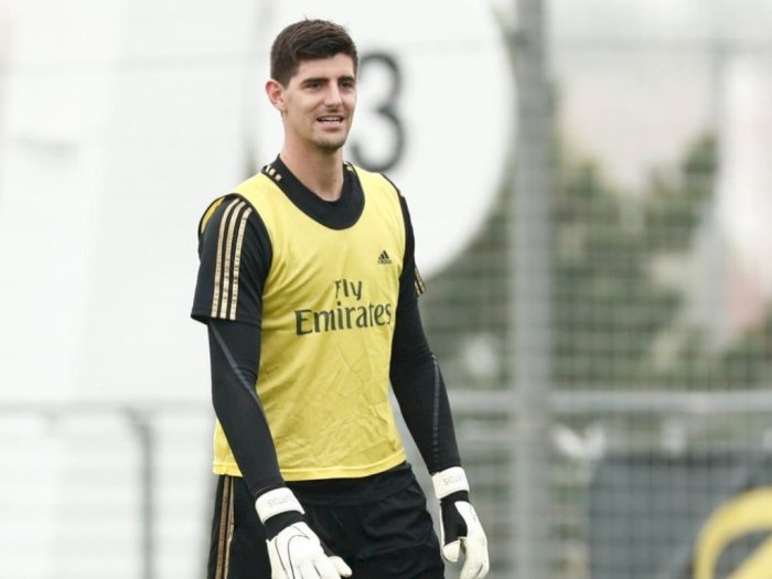 Optimis, Courtois: Real Madrid Termasuk Kandidat Juara Liga Champions