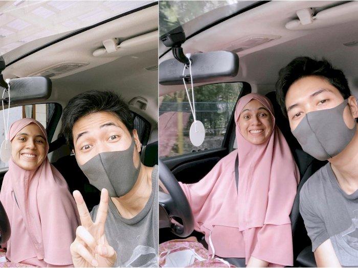 Sukses Belajar Nyetir Mobil, Nycta Gina Juluki Rizky Kinos 'Suami Solutif'