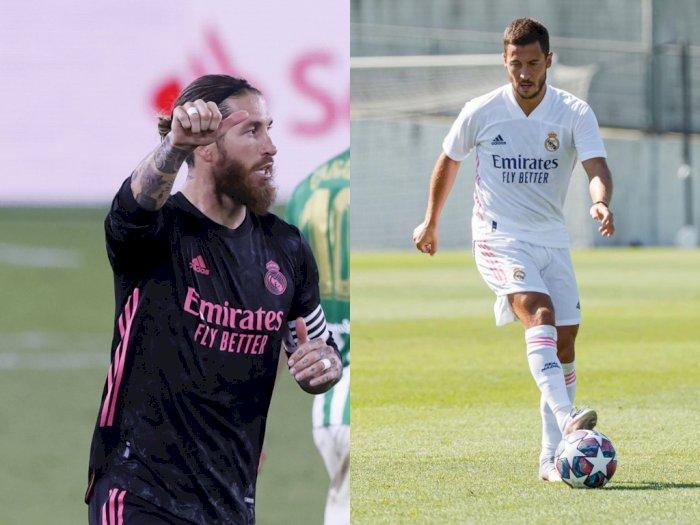 Detik-detik Madrid vs Shakhtar, Ramos Bakal Absen, Hazard Mulai Bugar