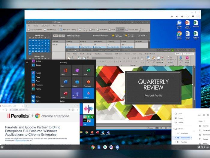 Aplikasi Parallels di Chromebook Kini Bisa Jalankan Sistem Operasi Windows 10