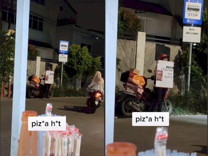 Viral Video Jual Pizza di Pinggir Jalan di Malam Hari, Netizen: Semua Kena Dampaknya