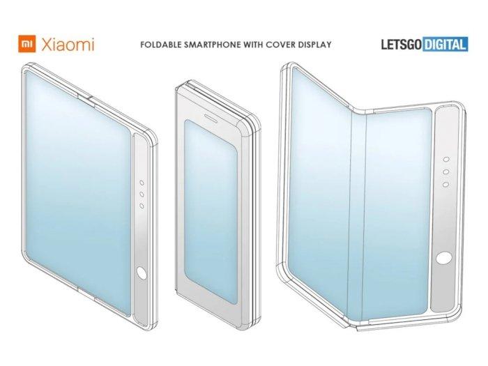 Xiaomi Daftarkan Paten Smartphone Lipat Baru, Kini Tampil Mirip Galaxy Fold