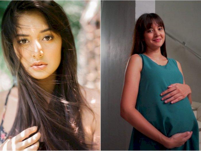 Unggah Foto Perut Buncit Bak Wanita Hamil, Aurelie Moeremans Bikin Netizen Heboh