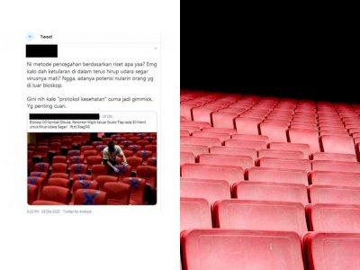 CEK FAKTA: Bioskop Kembali Dibuka, Tapi Pengunjung Harus Keluar Tiap 30 Menit, Benarkah?