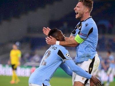 FOTO: Liga Champions, Lazio Menang 3-1 Atas Dortmund