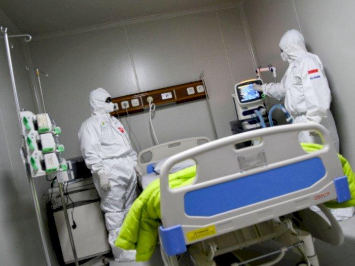 Keterpakaian Ruang Isolasi dan ICU di RS Rujukan Covid-19 Sudah di Bawah 60%