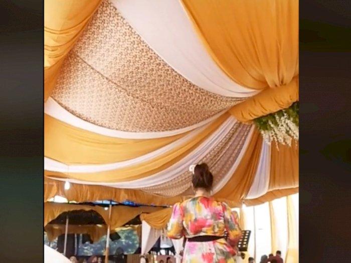 Viral Tenda Megah Pernikahan Mendadak Ambruk dan Hancur, Netizen: Mungkin Doa Mantan