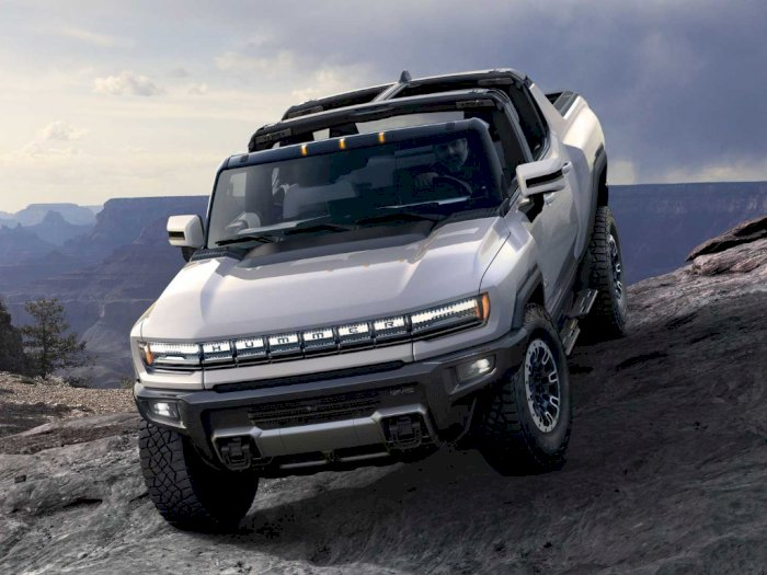 Mobil GMC Hummer EV 2022 Resmi Diumumkan, Jadi Truk Elektrik Masa Depan?