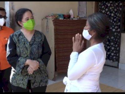 Puan Maharani Unggah Video Bagikan Bansos ke Janda Bali, Netizen: Pencitraannya Bagus, Bu