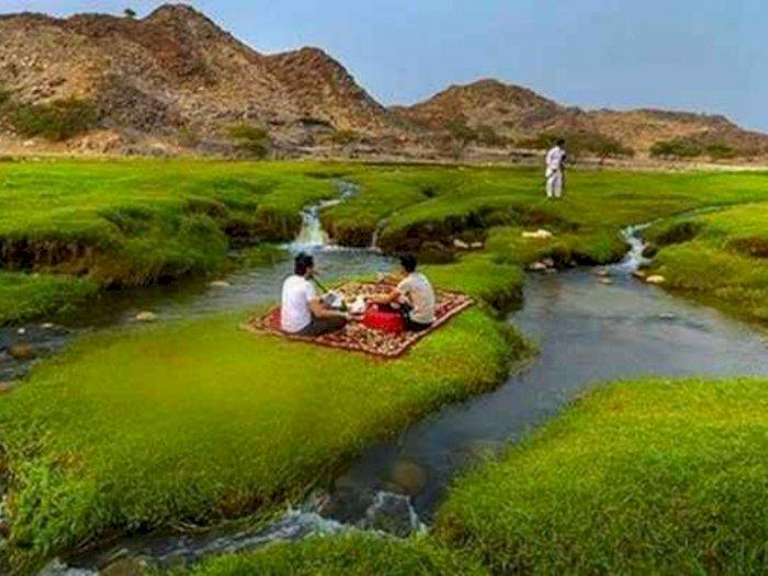 Wadi al-Bardani, Surga Dunia Yang Ada di Arab Saudi