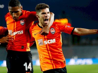 FOTO: Liga Champions, Madrid Dipermalukan Shakhtar 2-3