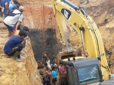 11 Pekerja Tambang Batu Bara Tewas Tertimbun Longsor di Muara Enim