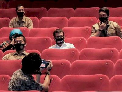 Soal Pembukaan Bioskop, Menparekraf Minta Pengelola Agar Ketat Terapkan Protokol Kesehatan