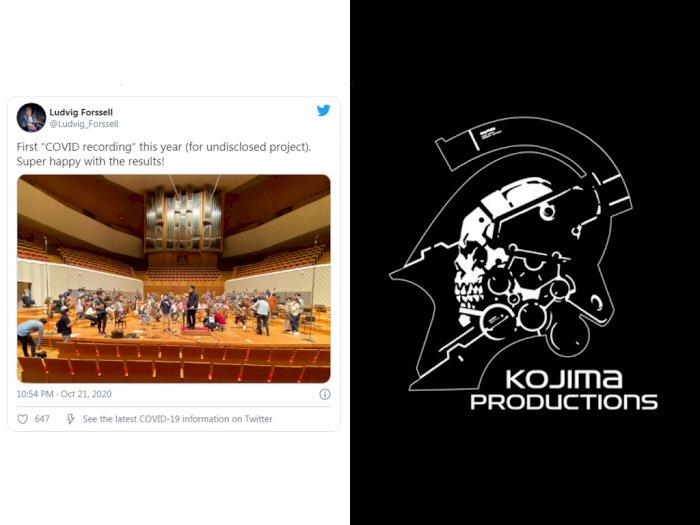 Komposer Kojima Productions Tengah Lakukan Sesi Perekaman untuk 'Project Baru'