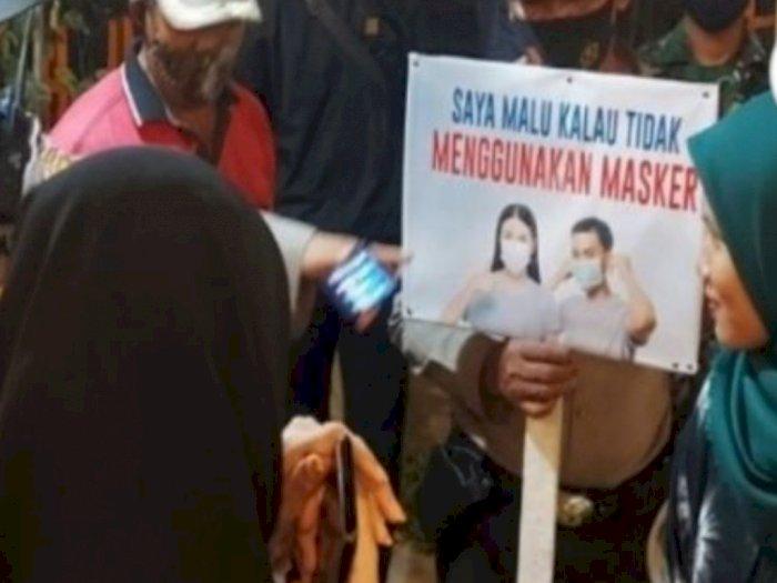 Terjaring Razia Masker, Pengunjung Kafe di Tebingtinggi Disuruh Hapal Pancasila
