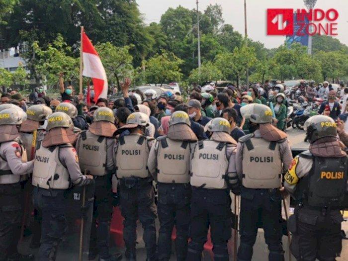 Polda Metro Terjunkan 8.000 Personel Gabungan Amankan Demo di Jakarta Hari Ini