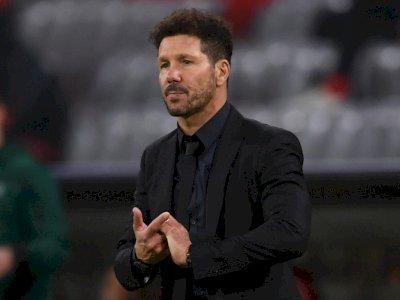 Dilibas Bayern, Simeone: Apa Atletico Terlalu Banyak Kesalahan atau karena Kualitas Lawan?