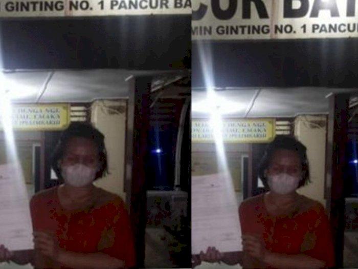 Dituduh Penipu Oleh Mamak-mamak di Pajak Pancur Batu, Pedagang Ulos Ini Pergi Lapor Polisi