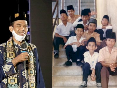 Hari Santri, Ustadz Abdul Somad Unggah Foto Lawas, Netizen: Ternyata Pernah Berisi