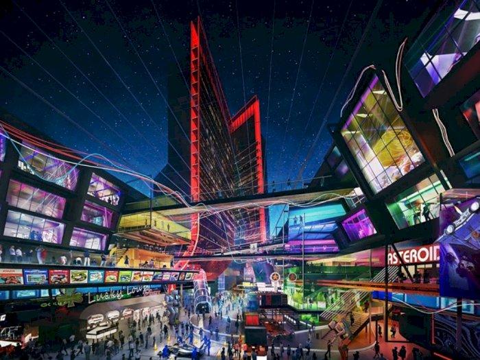 Hotel Atari di Las Vegas Ini Terinspirasi dari Video Game, Keren!