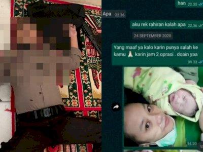POPULER: Bripda Miftahul Idris Bunuh Diri di Atas Sajadah, Suami Cuekin Istri saat Lahiran