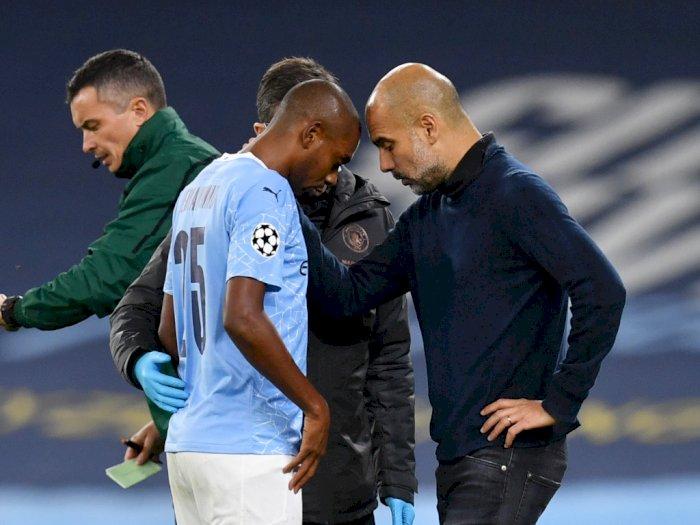 FOTO: Liga Champions, Manchester City Kalahkan Porto 3-1