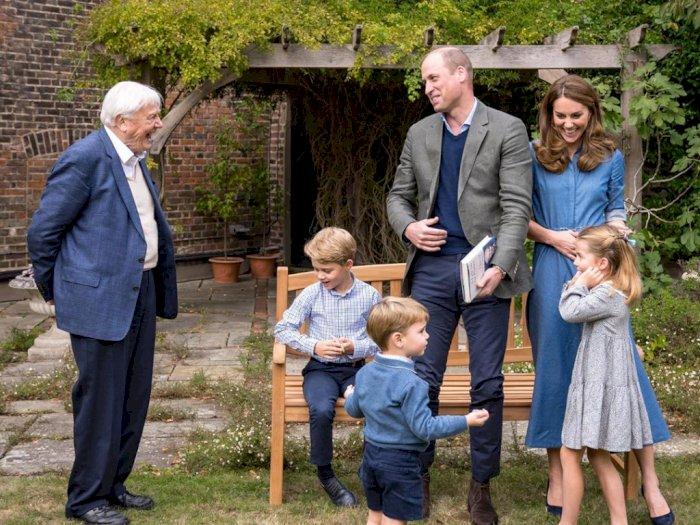 Kate Middleton Menggunakan Teknik Pengasuhan Modern Kepada Anak-anaknya