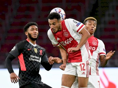 FOTO: Liga Champions, Liverpool Menang Tipis 1-0 Atas Ajax
