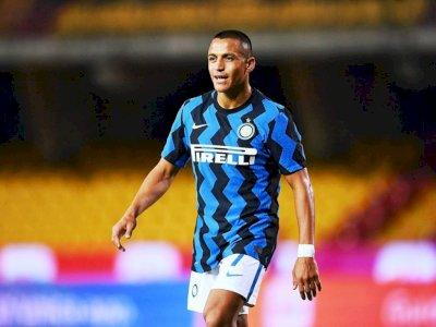 Alexis Sanchez Cedera Saat Inter Bermain Imbang dengan Gladbach