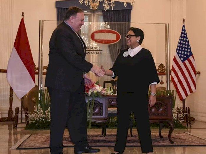 Pekan Depan, Menteri Luar Negeri AS Mike Pompeo Berkunjung ke Indonesia