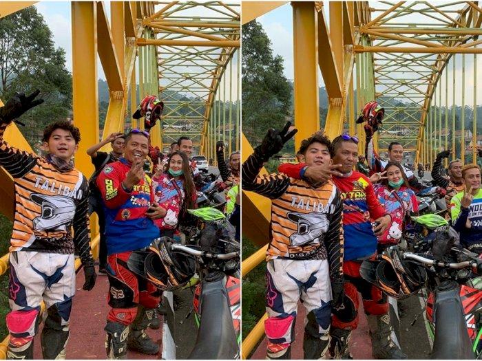 Singgung Soal Pentingnya Kebersamaan saat Unggah Foto Touring, Rizky DA Diserang Netizen