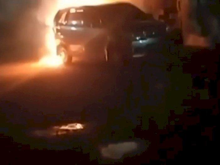 Detik-detik Yulia Istri Dokter Dibakar di Dalam Mobil di Sukoharjo, Tangannya Diikat