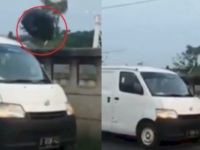 Viral Sebuah Mobil Buang Sampah Sembarangan di Bekasi, Ini Respons Polisi