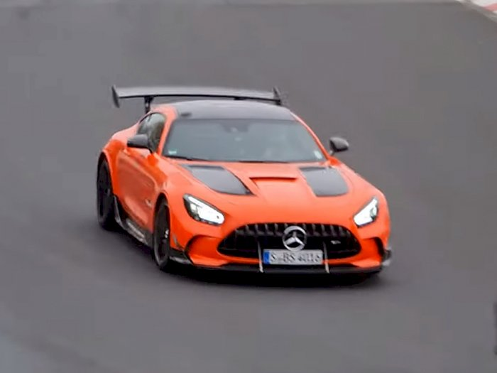 Mercedes-AMG GT Black Series Dilaporkan Pecahkan Rekor di Nurburgring
